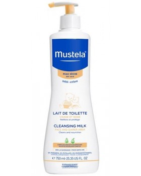 MUSTELA LATTE DI TOILETTE750ML