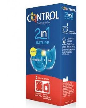 CONTROL 2IN1 NATURE+LUBE 3PZ