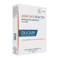 ANACAPS REACTIV DUCRAY 30 CAPSULE 2017