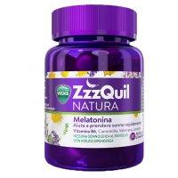 Vicks ZzzQuil NATURA Integratore alimentare con vitamina B6, melatonina ed estratti di erbe, che aiuta a prendere sonno rapidamentedi 30 Pastiglie Procter & Gamble