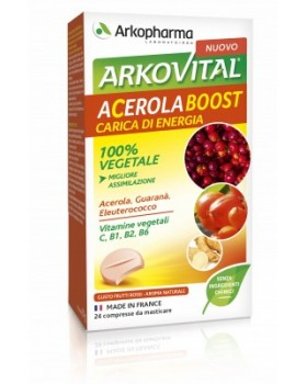 ACEROLA Boost 24 Cpr