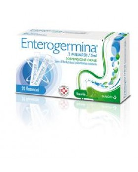 ENTEROGERMINA OS 20FL 2MLD/5ML