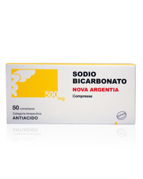 SODIO BICARB%50CPR 500MG