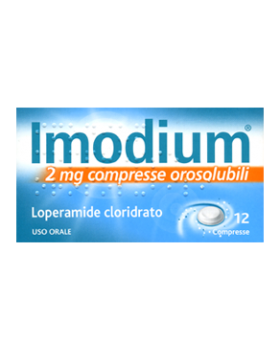 IMODIUM 12 COMPRESSE OROSOLUBILE 2MG