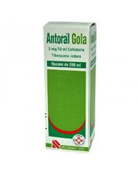 ANTORAL GOLA%COLLUT 200ML 5MG/