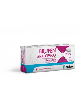 BRUFEN ANALGES*12CPR RIV 200MG
