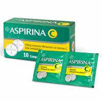 ASPIRINA C 10 COMPRESSE EFFERVESCENTI 400 + 240MG