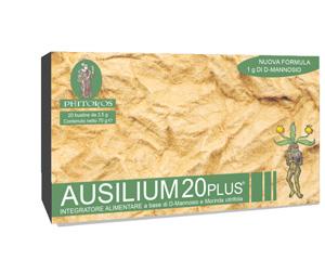 Ausilium 20 Plus integratore vie urinarie cistite 20 bustine PHITOKOS
